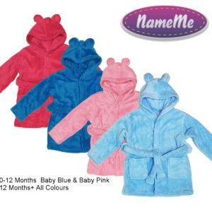 Personalised Hooded Bathrobes