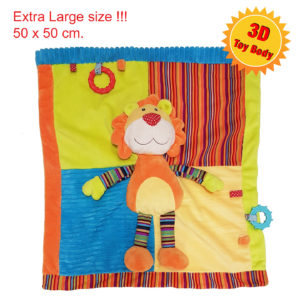 personalised extra large lion comforter