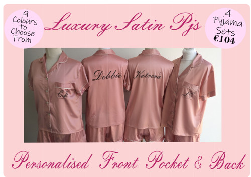 Luxury Satin PJ's