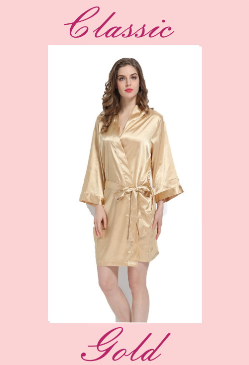Classic Satin Robes